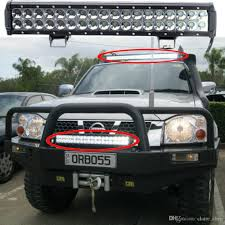 100 Led Truck Light Bar 18inch 108w Cree Work For Offroad SUV