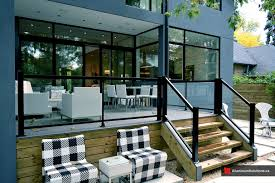 100 Glass House Project Deck