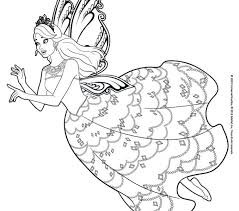 Coloring Pages Barbie Hellokids Free