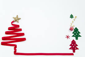 Christmas Tree Border Background Material