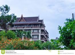 100 Thai Modern House Architecture Stock Photo 58081852 Megapixl