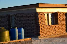 Photo Of Cheap Houses Ideas by Simple Earthbag House Design Cheap Green Building Idea For Desert