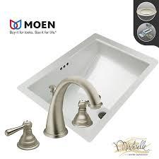 Moen Kingsley Faucet Brushed Nickel by Faucet Com Miru1812 Mt6125 Bn In Brushed Nickel Faucet By Build