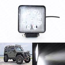Auto LED Work Light 27W Offroad Bar Spot Beam Driving Housing - US ... Truck Lite Led Work Light 4 81520 Trucklite Pair 27w Epistar Square Offroad Flood Lamp Boat Jiawen Car Styling 30w Dc12 24v For Safego 2pcs Work Lights 12v 24v 27w Led Lamps Car Trucks Adds White Auxiliary To Signalstat Lineup X 6 High Powered Beam 1200 Lumens Riorand Water Proof 2 60 Degree Luxurius Lights For Trucks F21 In Stunning Selection With Inch Pod Cree 60w Tri Row Bar Combo 2x 18w Pods Spot Atv Jeep Ute Great 64 On Definition 12 Inch 72w Vehicle