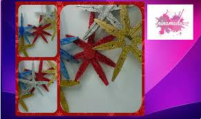 diy décoration pour noël avec des pinces recyclées activité