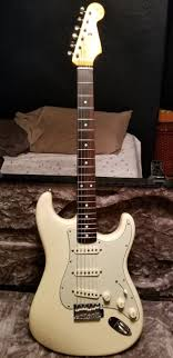 Fender John Mayer Signature Stratocaster Olympic White Thick 62 Neck And 43mm