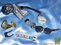 contacteur neiman avec 2 clés clef serrue coffre teknix pour