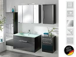 badezimmer 5 teilig komplettset bad badezimmerprogramm möbel heron iv ebay