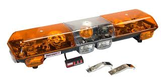 WOLO EMERGENCY WARNING LIGHT BARS; HALOGEN, STROBE & LED