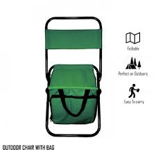 Portable Folding Chair With Storage