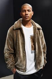 UO Faux Fur Tan Jacket