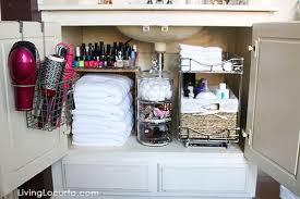 Quick Bathroom Organization Ideas