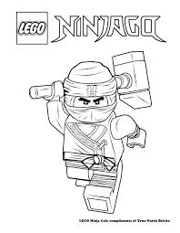 Lego Ninjago Movie Coloring Pages Kai Promising Colouring Page Ninja Zane Zx