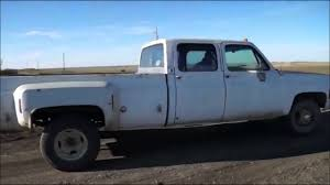 100 Crew Cab Trucks For Sale 1976 Chevy Dually YouTube