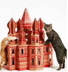 des maisons de jeux pour chats qui sont des monuments trucs et
