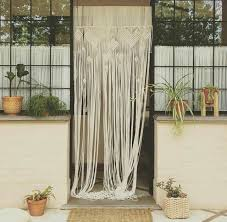 1x2m Handmade Macrame Door Curtain Hanging Tassels Home Room