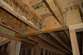 Distance Between Floor Joists Canada by How To Build A Floor For A House 11 Steps With Pictures