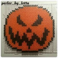 Halloween Perler Bead Templates by 39 Best Halloween Perler Images On Pinterest 8 Bit Charts And