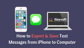 How to Export Save Text Messages from iPhone to puter 750x430