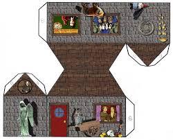 Tarot Girl Papercraft House