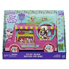 Littlest Pet Shop Treats Truck - Hasbro - Toys