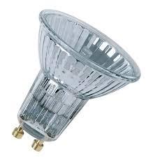50w osram gu10 halogen spotlight 35皸 box of 20 lightbulbs