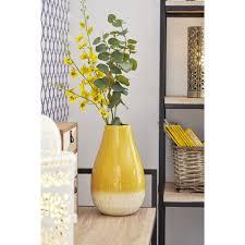 100 Ochre Home Bulbous Vase In 2019 Living Room New Home