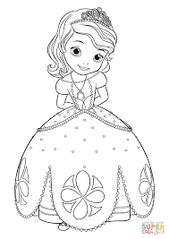 Click The Princess Sofia Coloring Pages To View Printable Version Or Color It Online Compatible With IPad And Android Tablets