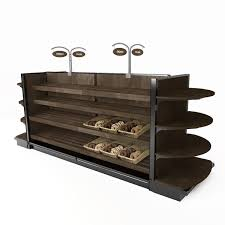 Bakery Display Shelving Units