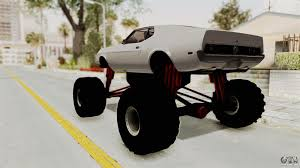 Ford Mustang 1971 Monster Truck For GTA San Andreas Radio Shack Zip Zaps Micor Rc Cars Spiderman Monster Truck Mustang Ford King Cobra 1978 Gta San Andreas Crazy 2 Mustang Monster Truck Wning Mach 1 Mp Races In Bigfoot No1 Original Rtr 110 2wd By Traxxas Shelby Gt500 Monster Truck For Spin Tires Maverick Ion Mt Wild Stang Trucks Wiki Fandom Powered Wikia Shelby Mustang Summit 4wd Blue Tra560764blue Hpi Baja 5r 1970 Boss Asphalt