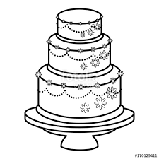 wedding cake married icon vector illustration graphic design