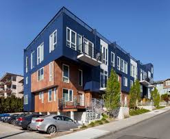 100 Row Houses Architecture Eastlake Houses B9 Architects
