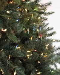 Prelit Christmas Tree Sets Itself Up by Aspen Estate Fir Artificial Christmas Tree Balsam Hill