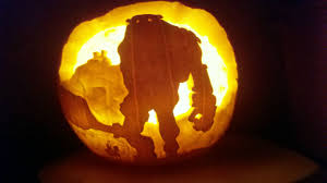Pac Man Stencil Pumpkin Carving by These Are The Coolest Game Themed Pumpkins This Year