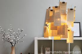 How To Make A Lampshade Out Of Anything