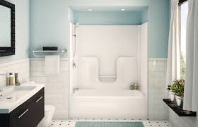 large fiberglass shower house interior and furniture install a