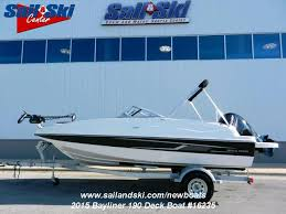 sail ski center san antonio 2015 bayliner 190 deck boat for