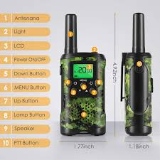 Walkie Talkies For Kids Toys For 312 Year Old Boys 22 Channel 3