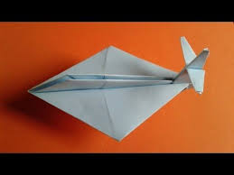 How To Make A Simple Paper Plane Easy Airplane For Kids Origami