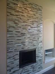 fireplace with of pearl tile and abalone shell tile also
