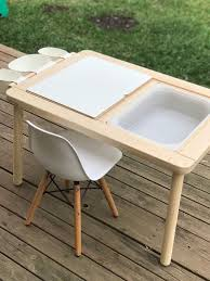 Upgrade The FLISAT Children's Table With A Simple Mod - IKEA ...