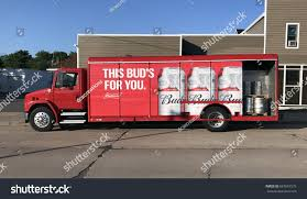 Spencer Wisconsinjune 27 2017 Budweiser Delivery Stock Photo ... Budweiser Truck Stock Images 40 Photos Ubers Selfdriving Startup Otto Makes Its First Delivery Budweiser Truck And Trailer Pack V20 Fs15 Farming Simulator Truck New York City Usa Photo Royalty Free This Is For Semi Trucks And Ottos Success Vehicle Wrap Gallery Examples Hauls Across Colorado In Selfdriving Hauls Across With Just Delivered 500 Beers Now Brews Its Us Beer Using 100 Renewable Energy Clyddales Boarding The Ss Badger 1