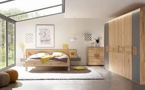 schlafzimmer mira in wildeiche massiv schiefergrau