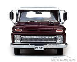 100 1965 Chevy Stepside Truck C10 Pickup Maroon Sun Star 1391 118