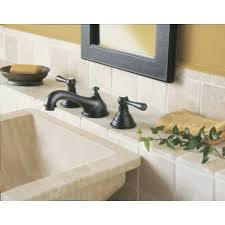 moen t6105 kingsley chrome two handle widespread bathroom faucets