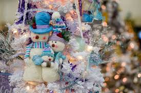 Frosty Snowman White Christmas Tree by Christmas Themed Post With Photos From The Festival Of Trees Dav