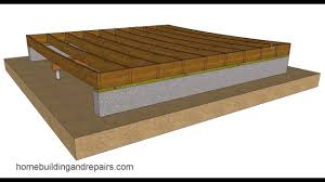 Floor Joist Spacing Shed by Why Can U0027t All Sagging Wood Framed Floors Be Fixed U2013 Building