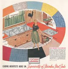 This Ad From The 50s Shows A Double Sink Version Of We Bought
