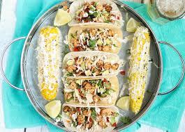 Pams Patio Kitchen Lunch Menu by Grilled Shrimp Tacos Strawberry Blondie Kitchen
