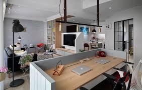 wohnzimmer arbeitszimmer kombiniert